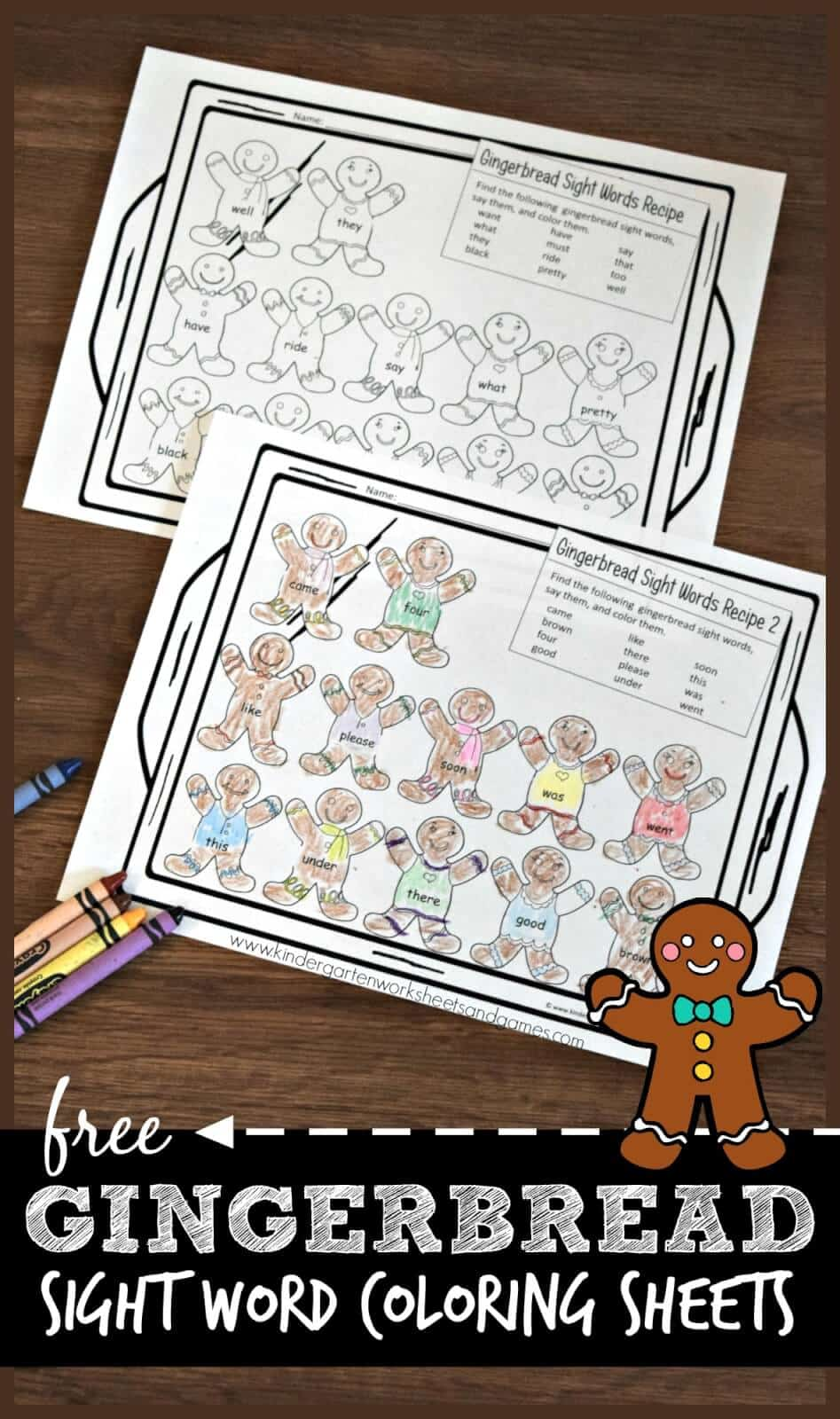 Free-GINGERBREAD-Sight-Word-Coloring-Sheets