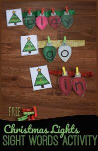 Stringing-Christmas-Lights-Sight-Words-Activity
