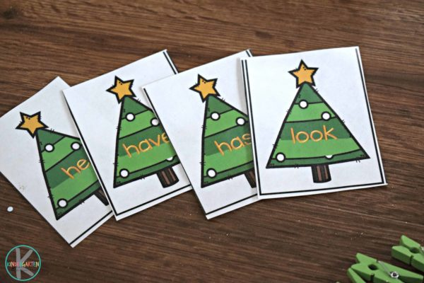 christmas-kindergarten-sight-words-activity