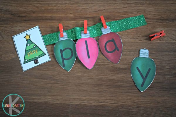 christmas-learning-sight-words-practice