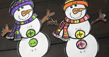 cute-snowman-Christmas-learning