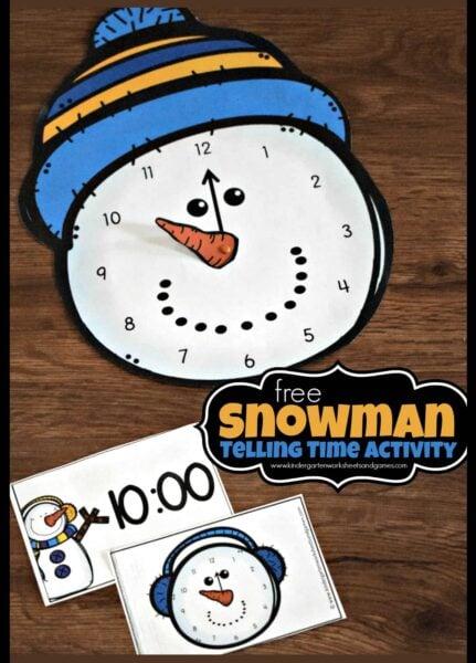free-snowman-teling-time-activity-kindergarten