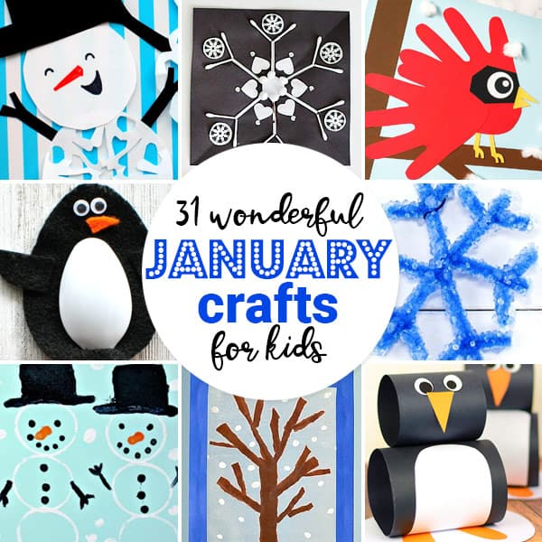 36 Wonderful January Crafts For Kids Kindergarten Worksheets And