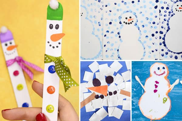 snowman-crafts-for-kids