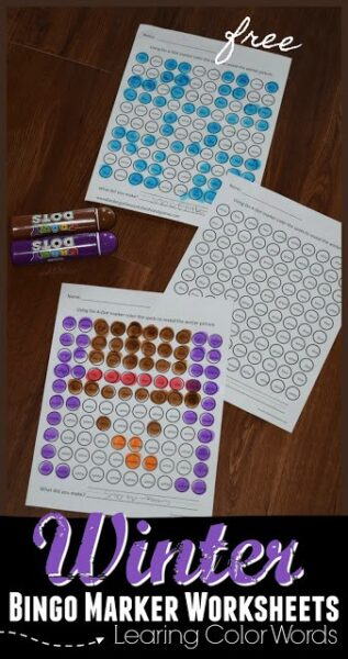 winter-do-a-dot-worksheets