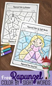 FREE-Rapunzel-Sight-Words-Coloring