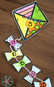 Kite-Skip-Counting-Math-Craft