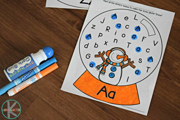 free-snowman-letter-find-worksheets-preschool-kindergarten