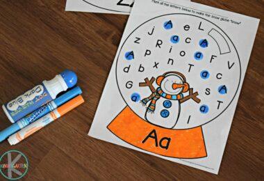 free-snowman-letter-find-worksheets-preschool-kindergarten