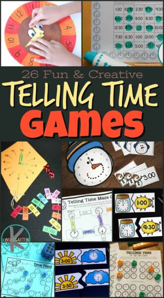 21 Telling Time Activities that are Fun and Creative - SO MANY creative ideas for all year #tellingtime #math #kindergarten