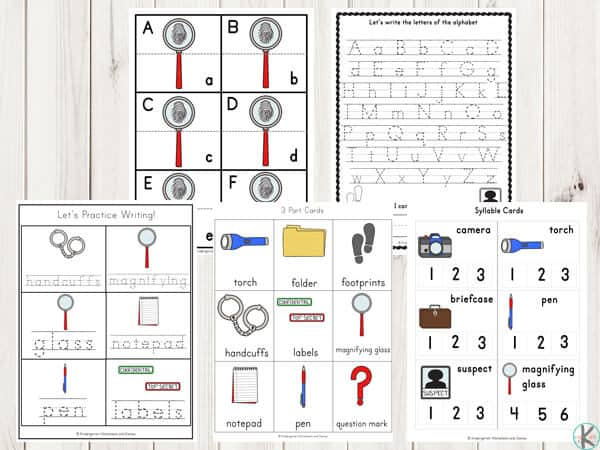 detective-worksheets-preschool-kindergarten