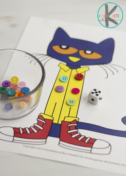 Pete The Cat Math Game