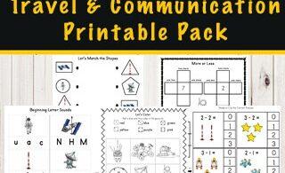 space-kindergarten-worksheets