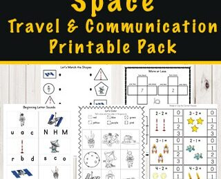space-kindergarten-worksheets