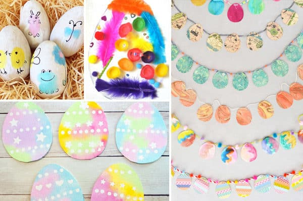 Have fun celebrating Easter with these clever easter egg crafts for kids of all ages