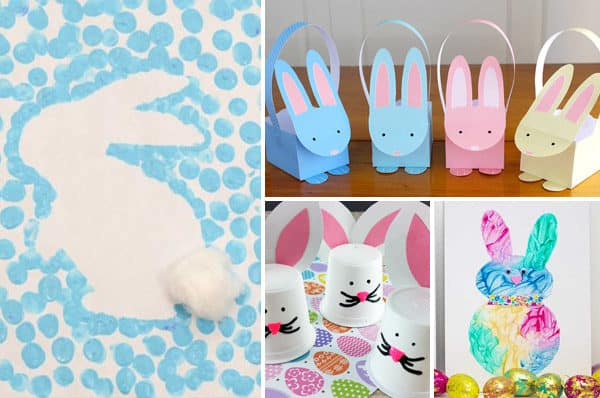 Lots of creative and unique bunny crafts