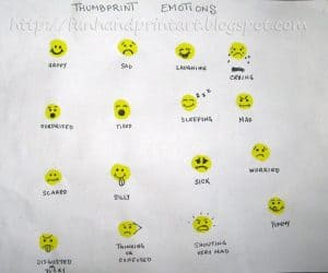 emoji-thumprint-crafts-for-kids