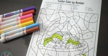 Easter Color by Code