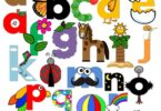 FREE Printable Lower Case Letter Crafts make it fun for toddler, preschool, and kindergarten age kids to practice letter recognition while making no prep paper crafts #craftsforkids #kindergarten #alphabet