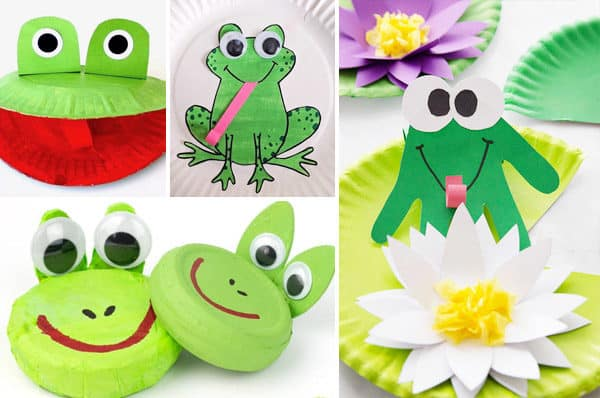 Whether you are studying life cycles or just enjoying spring, you will love these frog crafts