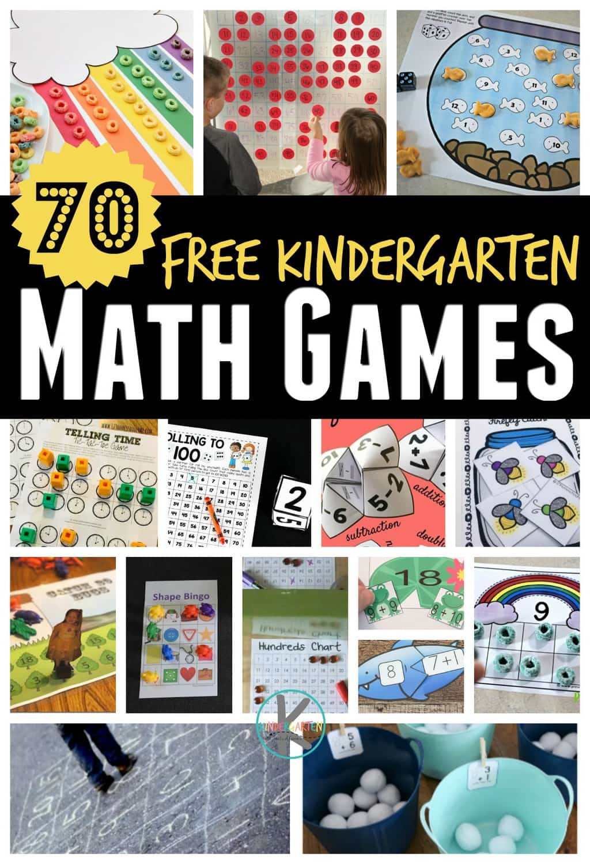 kindergarten math games - Free Kindergarten Math Games