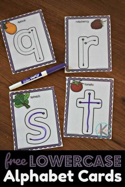 Lowercase Letters Trace Amp Erase Kindergarten Worksheets