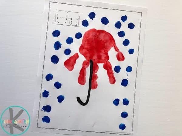 u-is-for-umbrella-fingerprint-craft