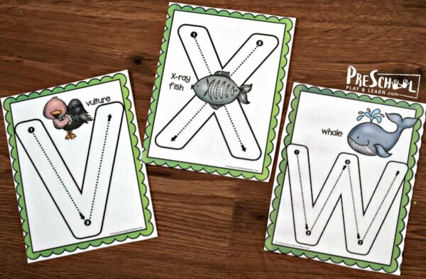 FREE Uppercase Letters Trace & Erase