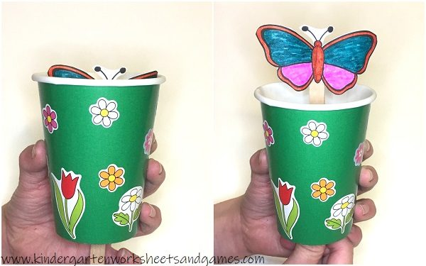 super cute, interactive butterfly crafts for kids from preschool and kindergarten to elementary age kids