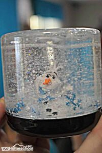 diy snow globe craft for kids