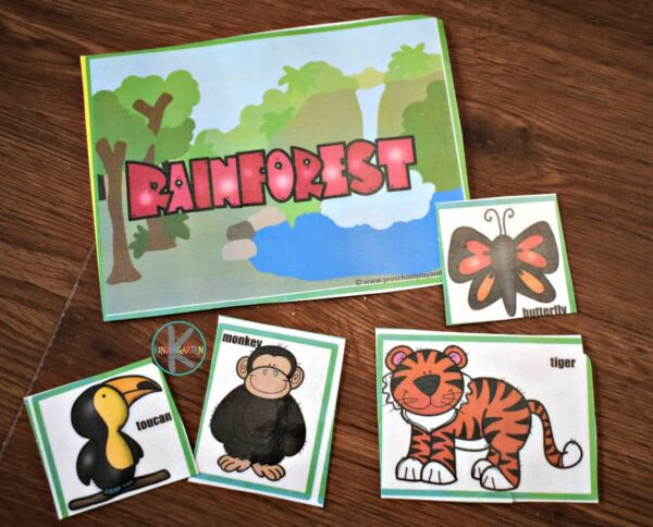 This is such a fun, simple habitat activities for preschool, kindergarten, and first grade kids.