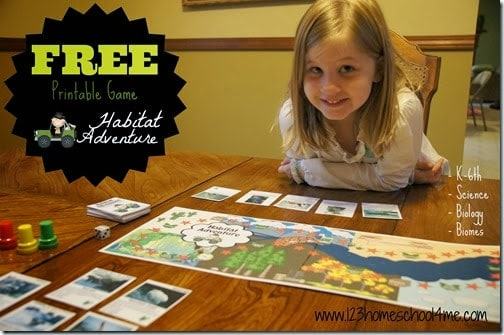 free habitat board game