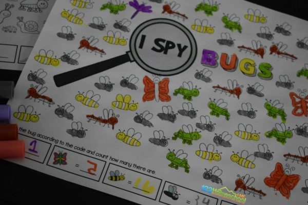 FREE I Spy Bugs