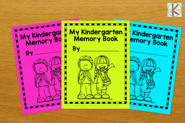 Print the school memory book on white or colored pages