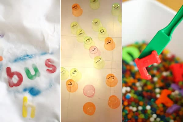 Kids will have fun learning their letters with these alphabet activities