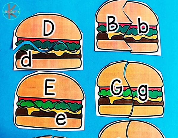 This alphabet puzzle is almost too good not to eat!