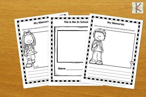 Free End Of Year Worksheets For Kindergarten