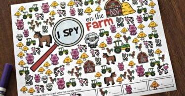 Free I Spy Printables