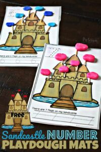 free-sandcastle-number-playdough-mats