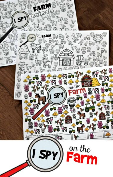 Farm I Spy Games