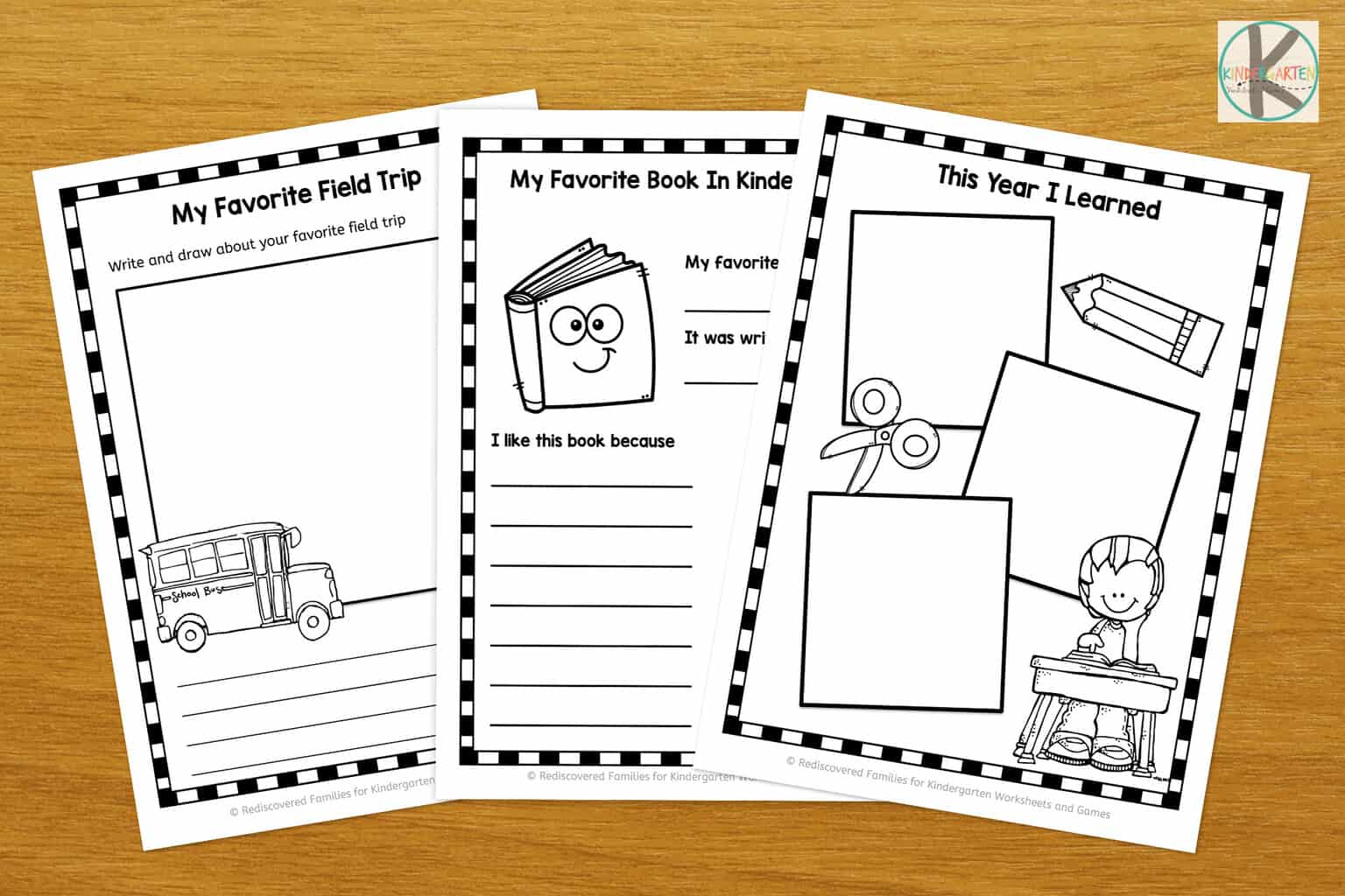 picture about Memory Book Printable called Absolutely free Kindergarten Memory E-book Kindergarten Worksheets and