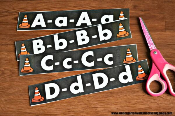 Low prep alphabet tracing activity to practice both upper and lowercase letters
