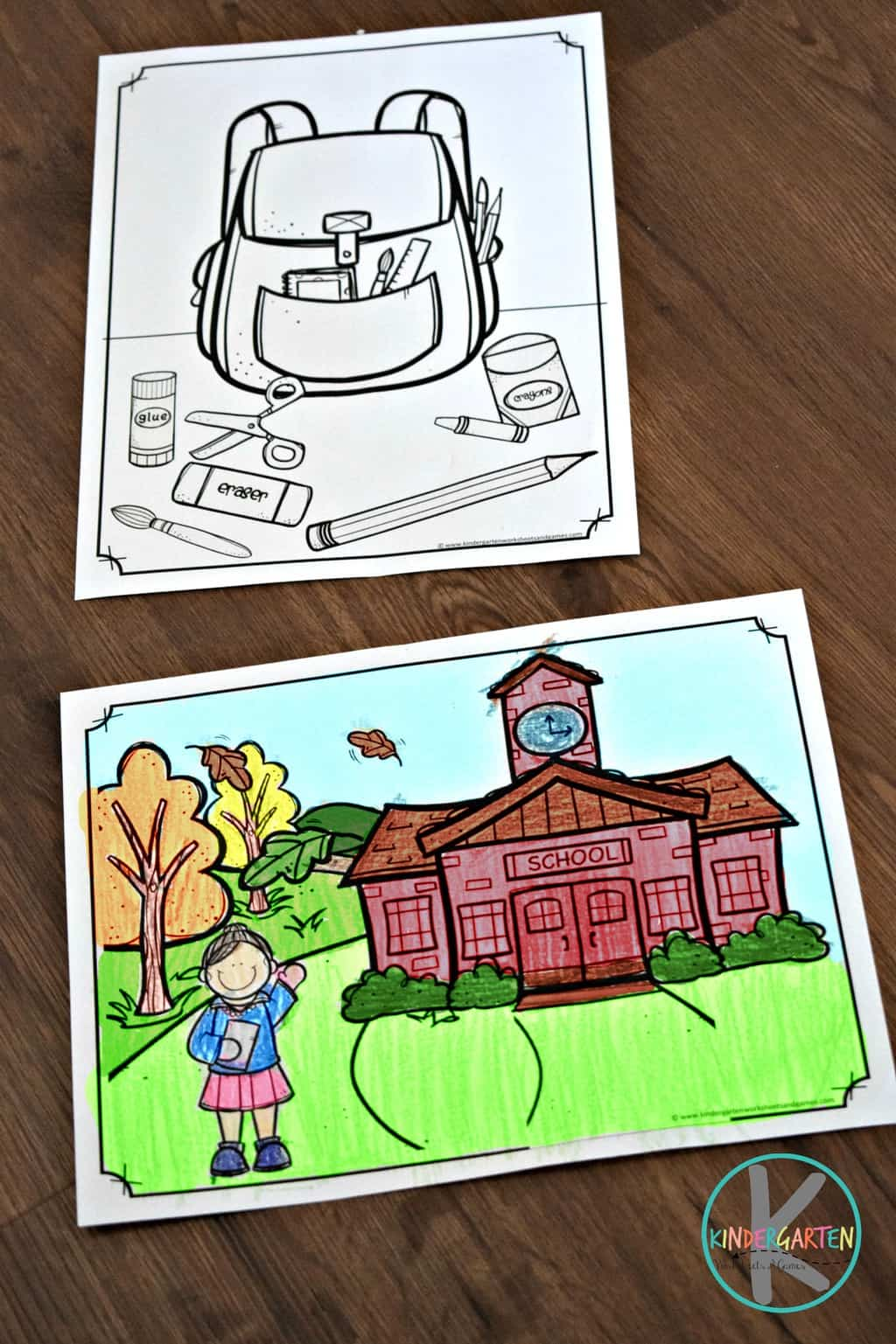 First Day of School Name Coloring Pages - Second Grade by Happy ... | 1537x1024