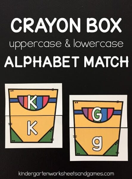 Crayon Box Alphabet Match