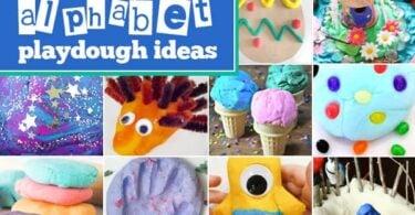 alphabet playdough ideas for kids
