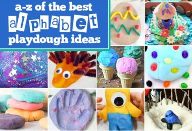 alphabet playdough ideas for kids
