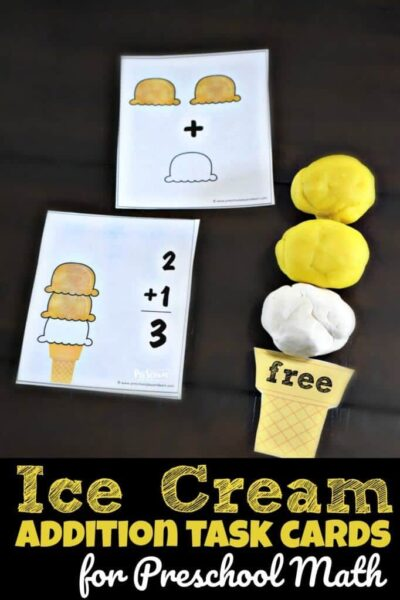 Ice Cream Addition Activity