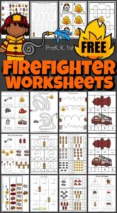 Firefighter Worksheets