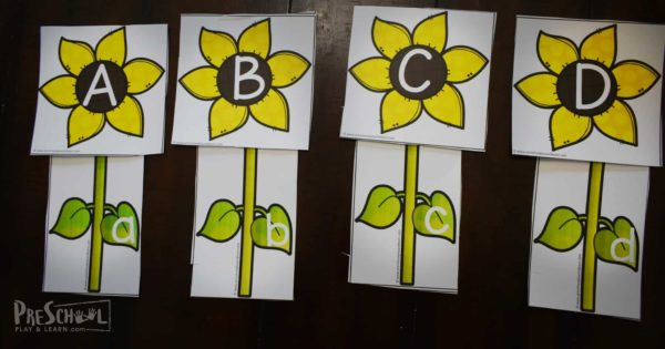 Super cute, free alphabet activity for early learners