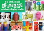 so many super cute tp roll crafts for preschool, prek, and kindergarten age kids